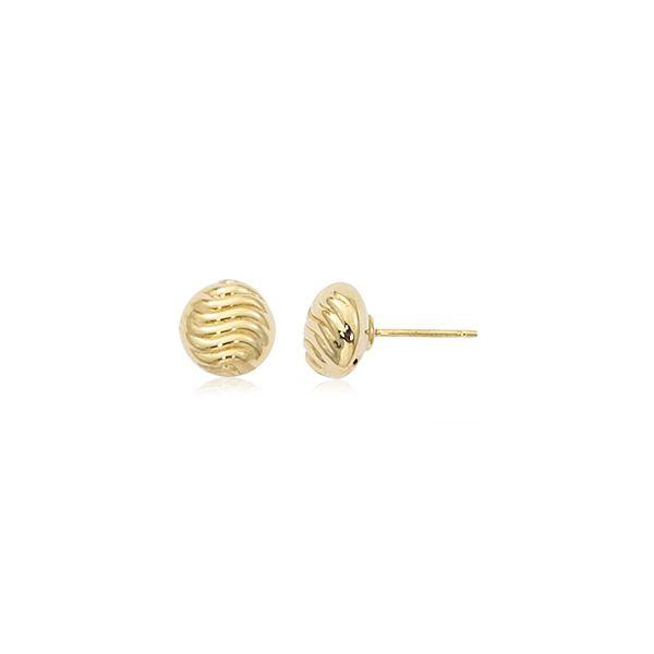 14-Karat Yellow Gold Earring Studs JWR Jewelers Athens, GA