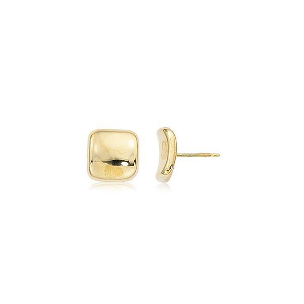14-Karat Yellow Gold Earring Studs Image 2 JWR Jewelers Athens, GA