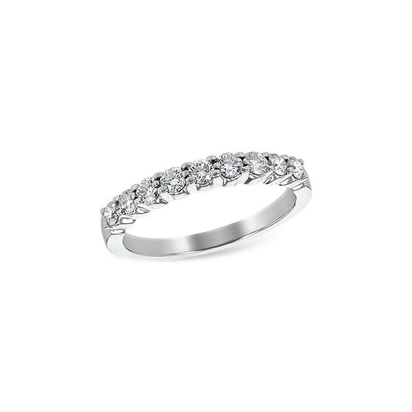 14K White Gold Diamond Band JWR Jewelers Athens, GA