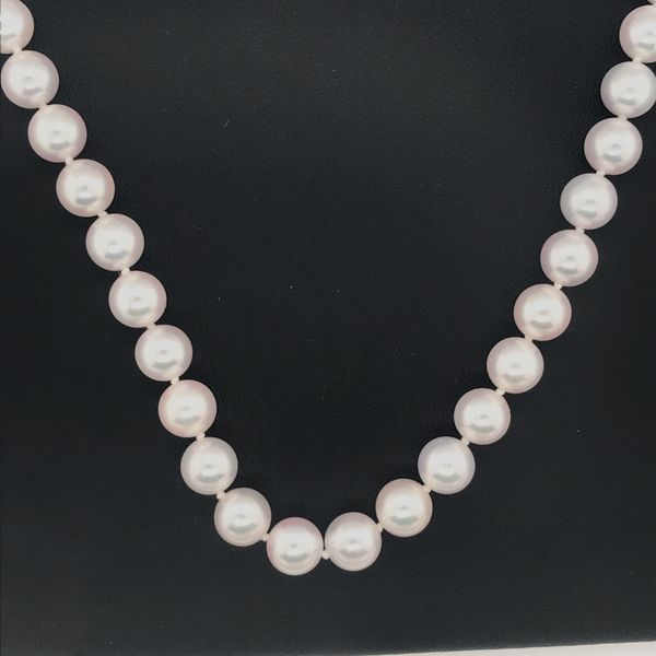 14KK White Gold Cultured Pearl Strand JWR Jewelers Athens, GA