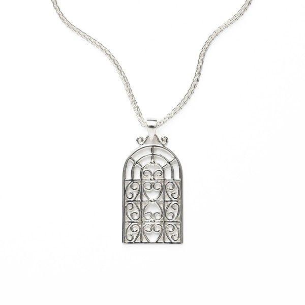 Sterling Silver Biltmore Series Pendant JWR Jewelers Athens, GA