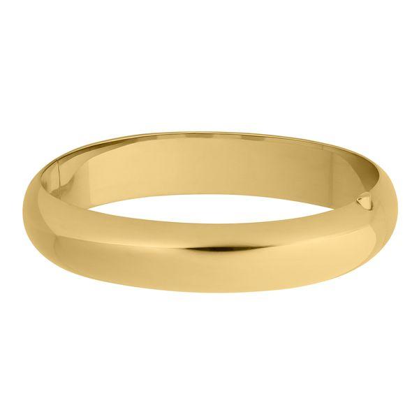 Yellow Hinged Bangle Bracelet JWR Jewelers Athens, GA