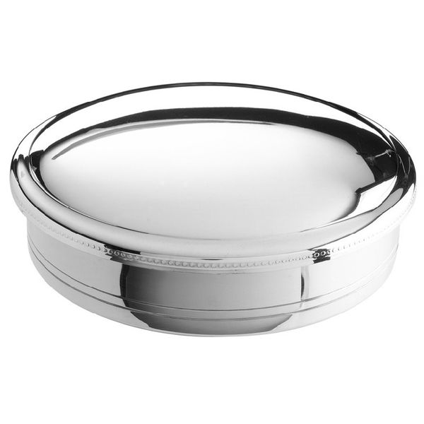 "Pewter 3.5"" Round Gift Box JWR Jewelers Athens, GA"