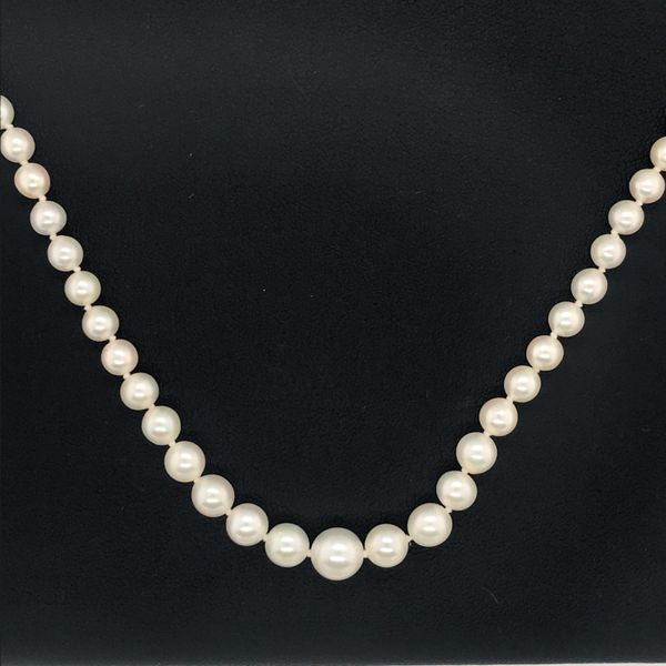 14K Yellow Gold Cultured Pearl Strand JWR Jewelers Athens, GA