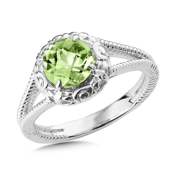 Sterling Silver Peridot Ring JWR Jewelers Athens, GA