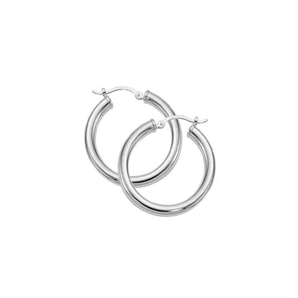 SS Hoop Earrings JWR Jewelers Athens, GA
