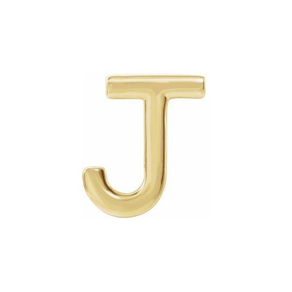 14K Yellow Gold Initial Earring Kiefer Jewelers Lutz, FL