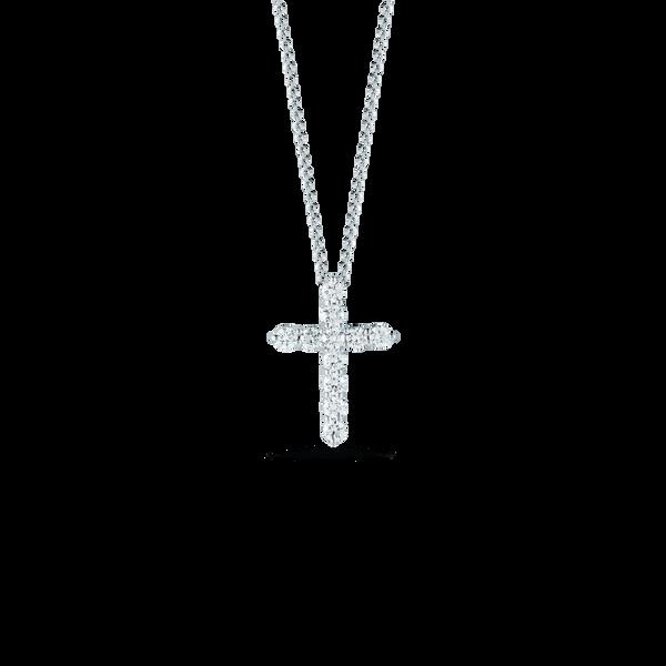 18KW Diamond Cross By Roberto Coin Kiefer Jewelers Lutz, FL