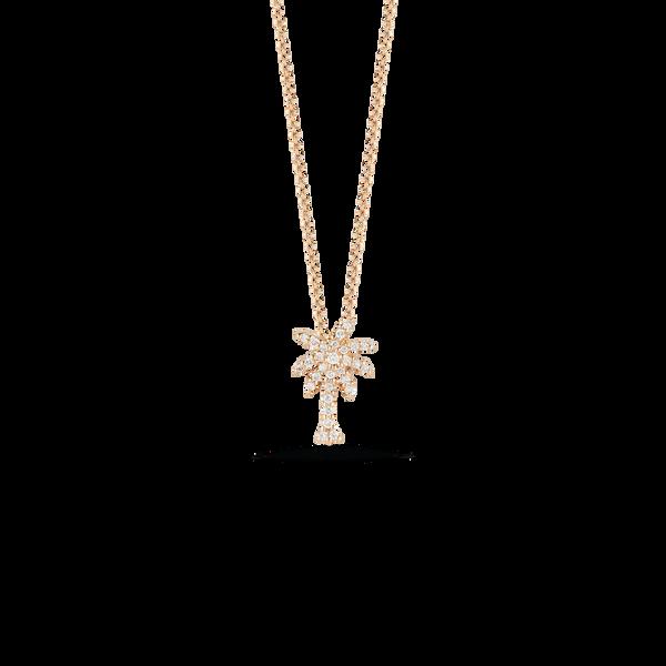 18KY Diamond Palm Tree Necklace Kiefer Jewelers Lutz, FL