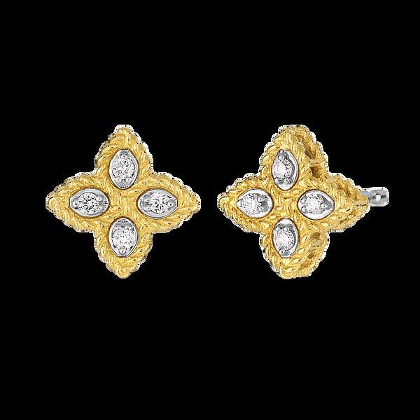 18K Diamond Earrings by Roberto Coin Kiefer Jewelers Lutz, FL