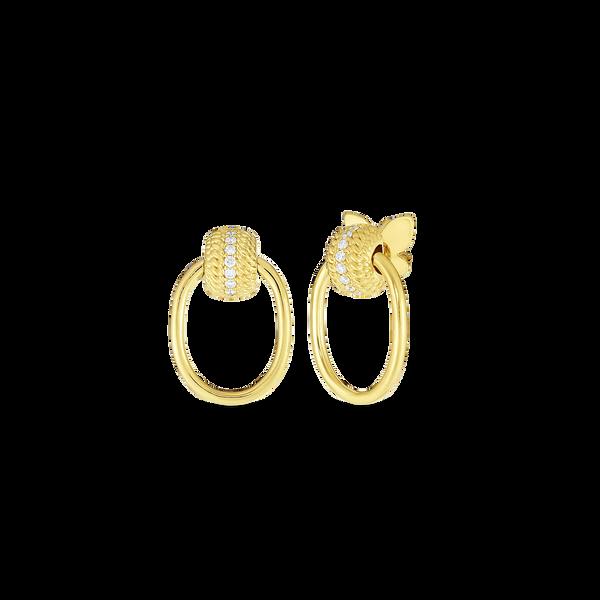 18KY Diamond Earrings by Roberto Coin Kiefer Jewelers Lutz, FL