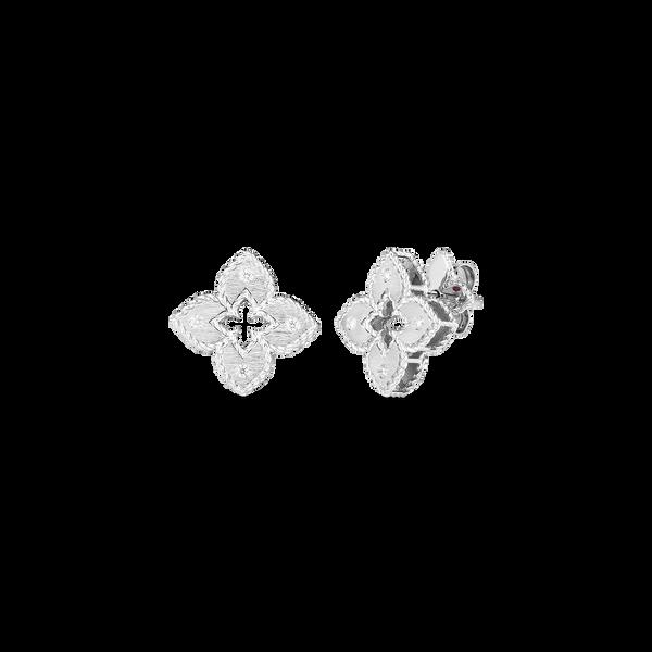 18KW Diamond Earrings by Roberto Coin Kiefer Jewelers Lutz, FL