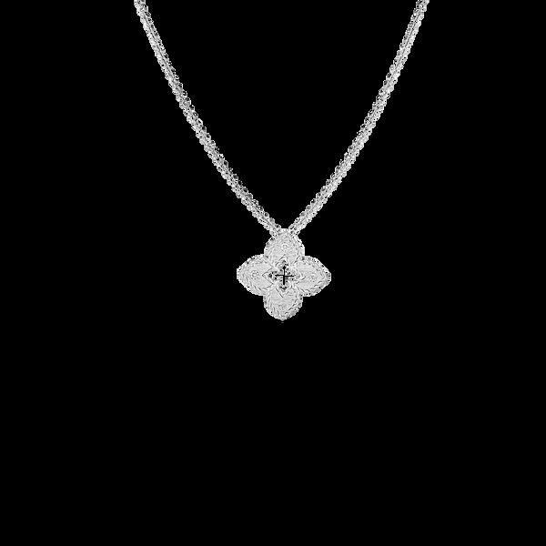 18KW Diamond Necklace by Roberto Coin Kiefer Jewelers Lutz, FL