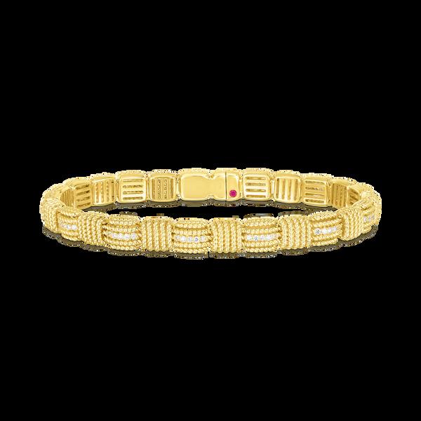 18KY Diamond Bracelet by Roberto Coin Kiefer Jewelers Lutz, FL