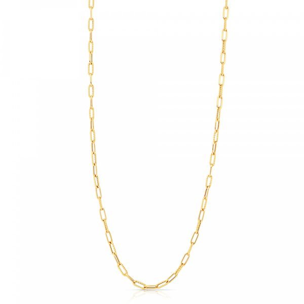 18KY Paperclip Chain by Roberto Coin Kiefer Jewelers Lutz, FL