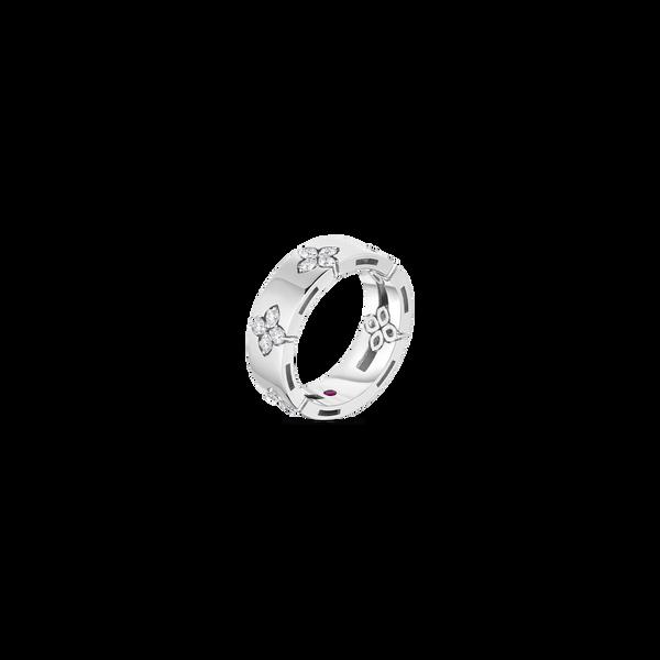 18KW Diamond Ring by Roberto Coin Image 2 Kiefer Jewelers Lutz, FL