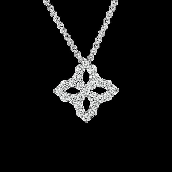 18KW Diamond Neclace by Roberto Coin Kiefer Jewelers Lutz, FL