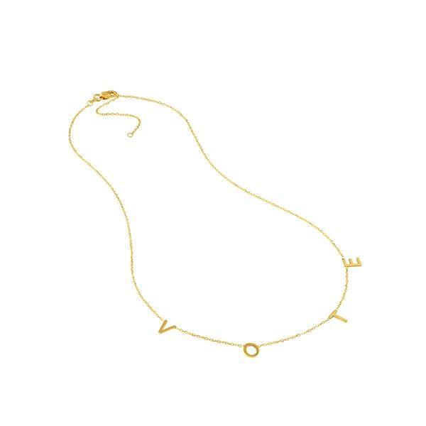 Initial Necklace Kiefer Jewelers Lutz, FL