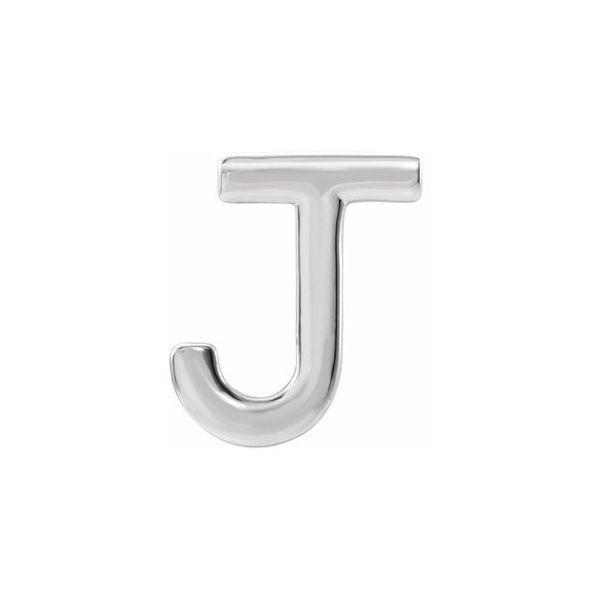 Sterling Silver Initial Earring Kiefer Jewelers Lutz, FL