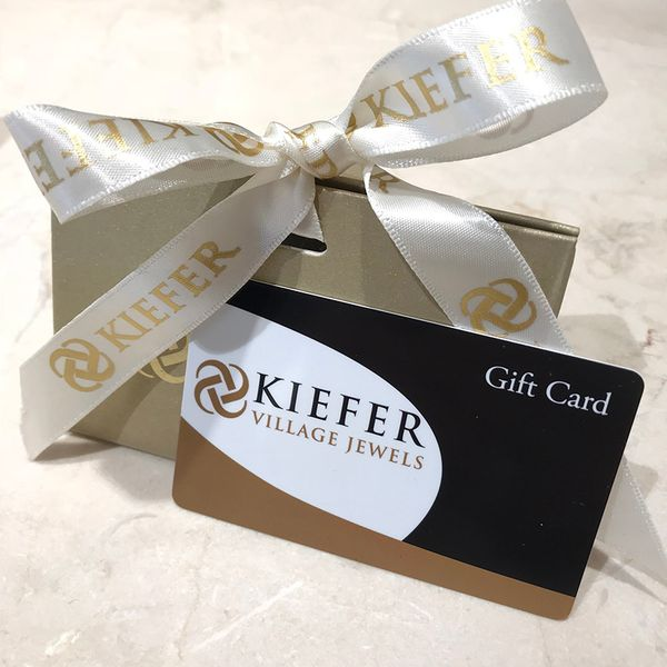 Kiefer Gift Card Kiefer Jewelers Lutz, FL