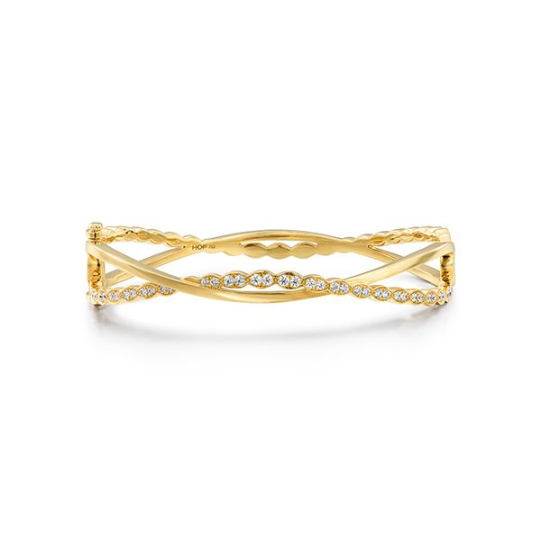 Lorelei Floral Twist Bangle The Diamond Center Claremont, CA