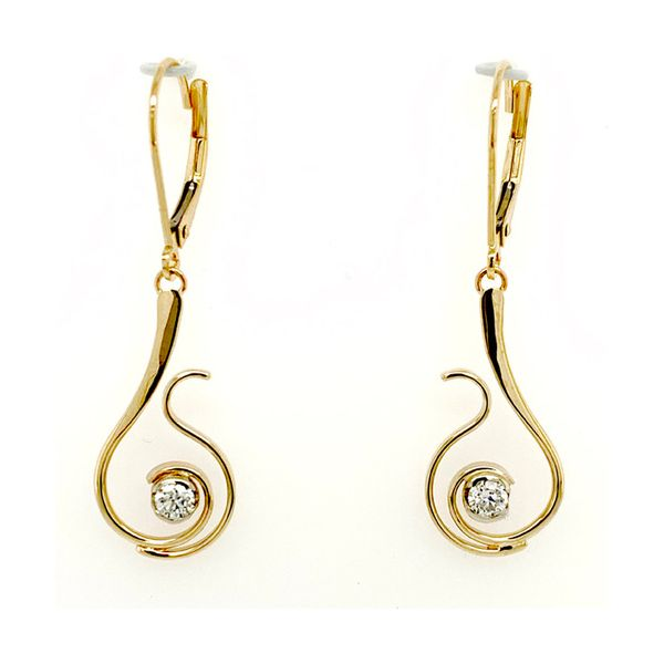 Single Diamond Blooming Earring The Diamond Center Claremont, CA