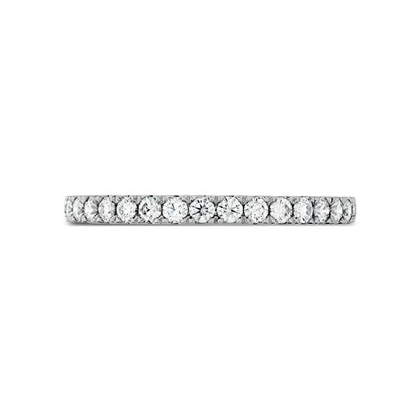 hearts on fire transcent premier band 18k white gold diamond eternity band stackable ring