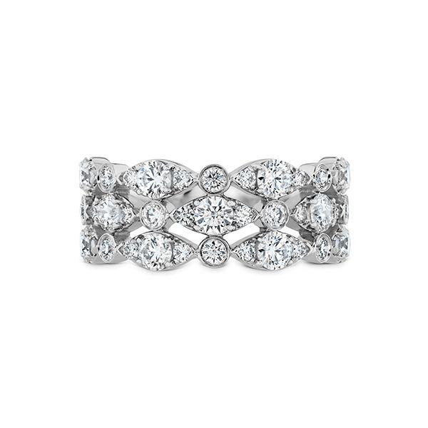 Bezel Regal Triple Ring The Diamond Center Claremont, CA