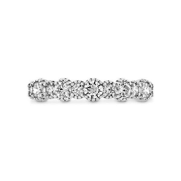 hearts on fire bahati beaded band 18k white gold with alternating diamond rounds