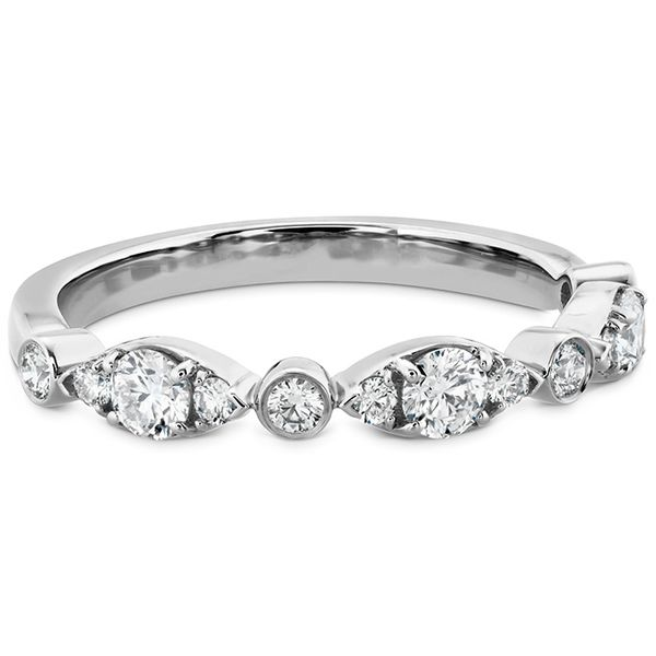 hearts on fire white gold bezel regal band