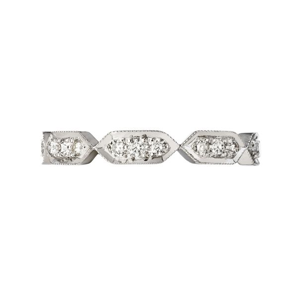 18k white gold diamond round triplets stackable ring sethi couture