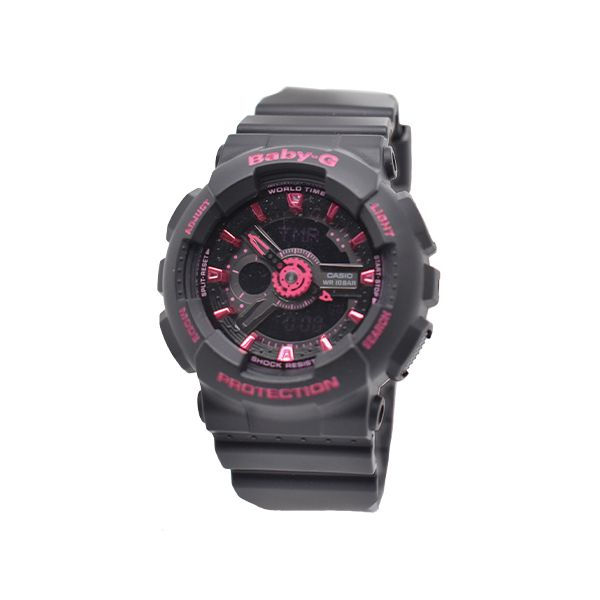 Baby-G Casio Stainless Steel Sports Watch Malak Jewelers Charlotte, NC