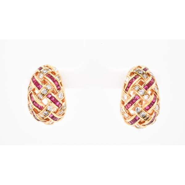18k Yellow Gold Earrings Malak Jewelers Charlotte, NC