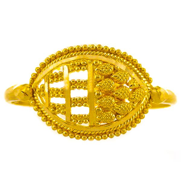 22k Yellow Gold Ring Malak Jewelers Charlotte, NC