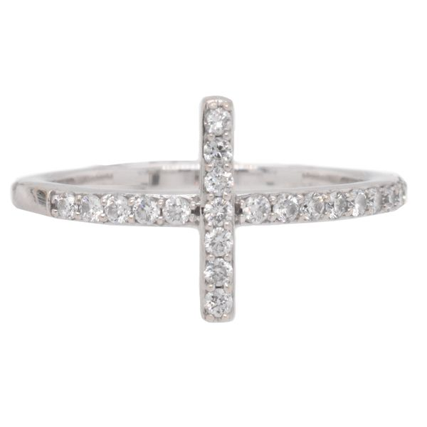 Diamond Cross Ring Malak Jewelers Charlotte, NC