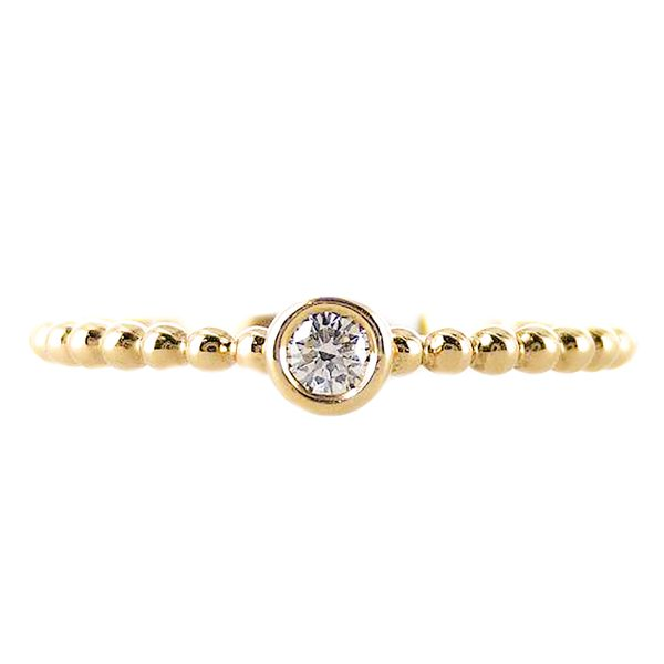 18k yellow gold tribute collection ring Malak Jewelers Charlotte, NC