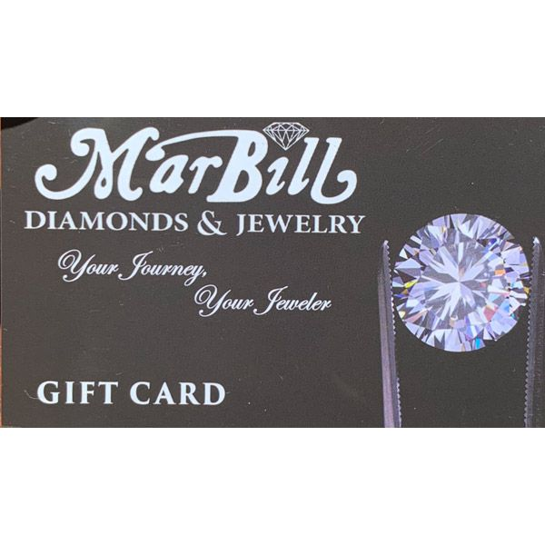 100 Gift Card Mar Bill Diamonds and Jewelry Belle Vernon, PA