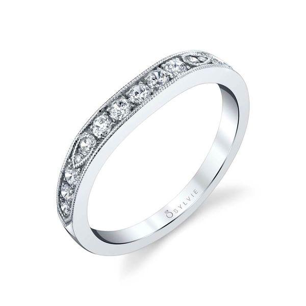 Chereen Diamond Wedding Band Mark Allen Jewelers Santa Rosa, CA