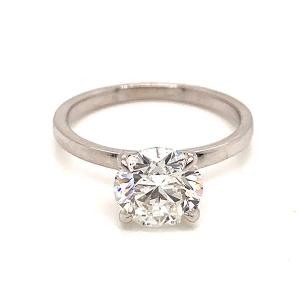 Solitaire Diamond Engagement Ring Martin Busch Inc. New York, NY