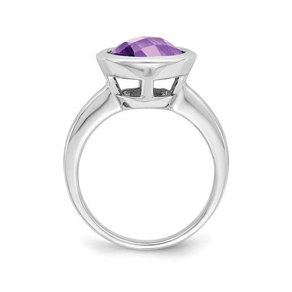 Sterling Silver Amethyst Ring Image 2 Martin Busch Inc. New York, NY