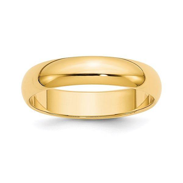 5MM  Gold Wedding Band Martin Busch Inc. New York, NY