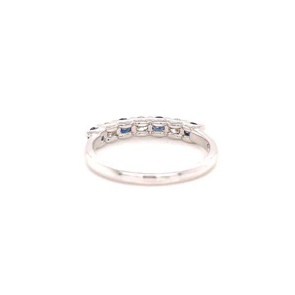 White Gold Sapphire and Diamond Image 3 Martin Busch Inc. New York, NY