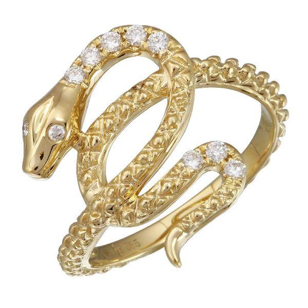 Diamond Snake Ring Martin Busch Inc. New York, NY