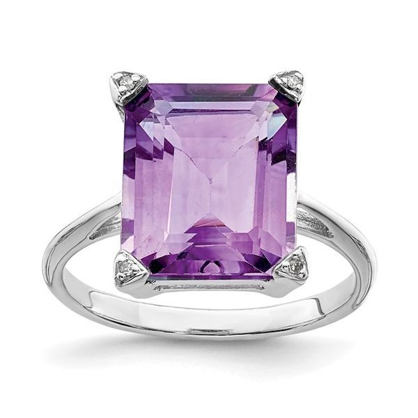 Sterling Silver Amethyst Ring Image 2 Martin Busch Inc. New York, NY