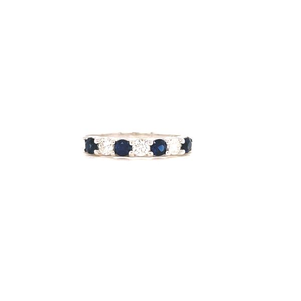 White Gold Sapphire and Diamond Martin Busch Inc. New York, NY