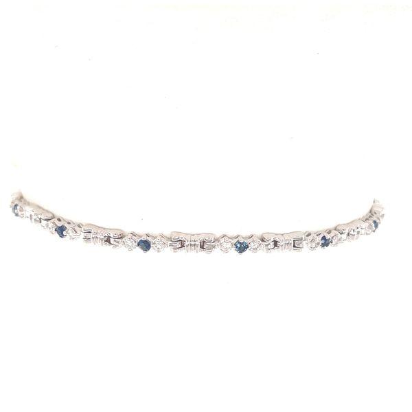 Sapphire & Diamond Bracelet Image 2 Martin Busch Inc. New York, NY