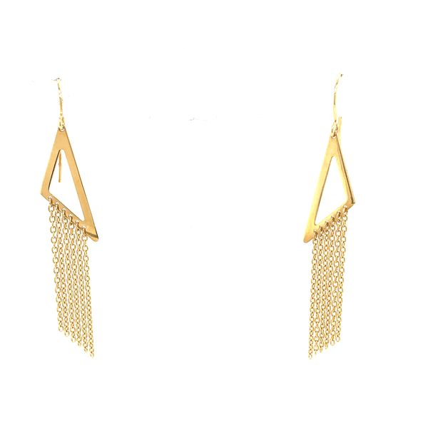 Geometric Drop Earring Martin Busch Inc. New York, NY