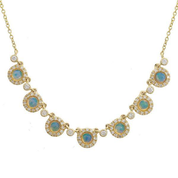Opal & Diamond Necklace Martin Busch Inc. New York, NY