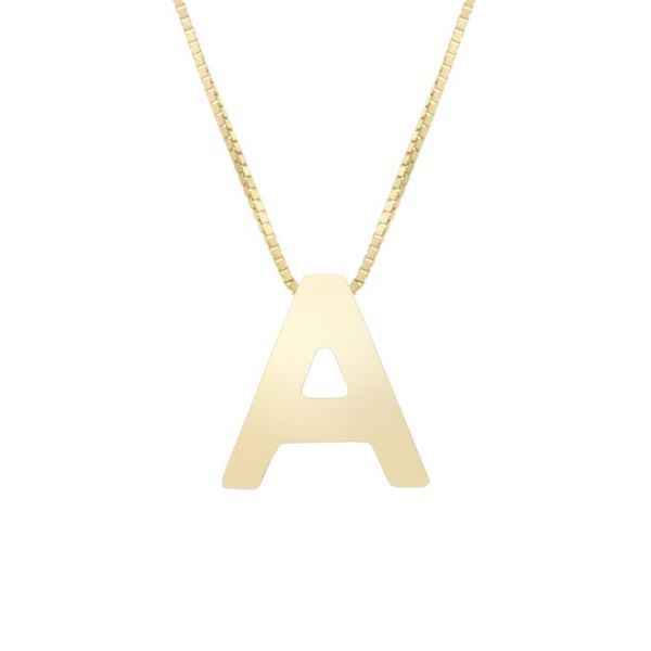 Letter A Initial Pendant Martin Busch Inc. New York, NY