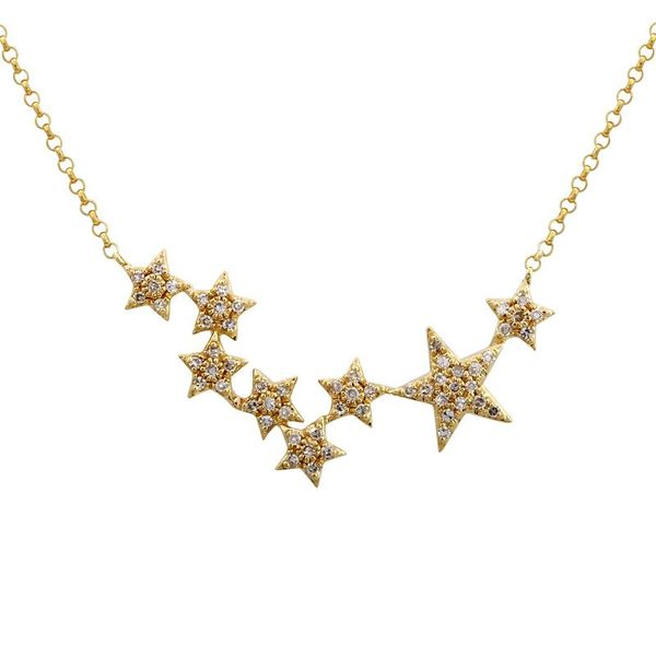 Multi-Stars Diamond Necklace  Martin Busch Inc. New York, NY